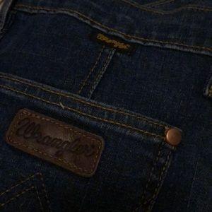 Wrangler x ModCloth flare jeans LONG